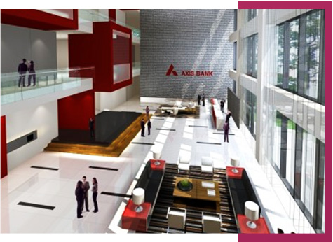 Axis Bank office