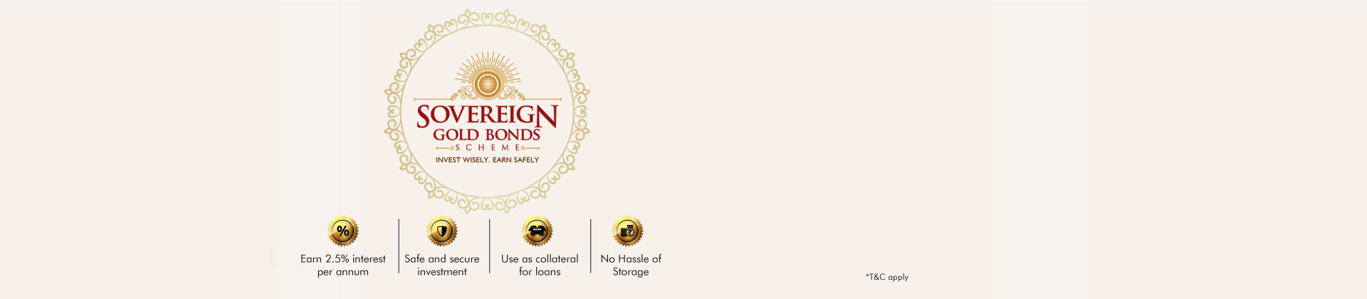 Axis Bank Gold Sovereign Web Banner