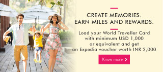 Expedia Miles & More Home Banner Mobile