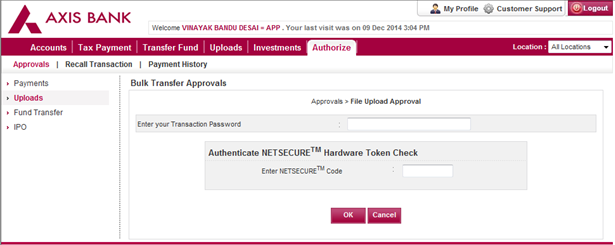 Axis bank prepaid forex card login