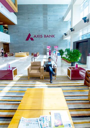 Axis House Lobby