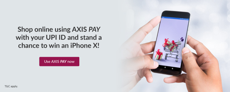 Banner for Axis Pay