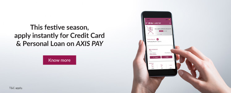 Banner for Axis Pay UPI
