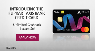 banner for Flipkart Axis Bank Credit Card