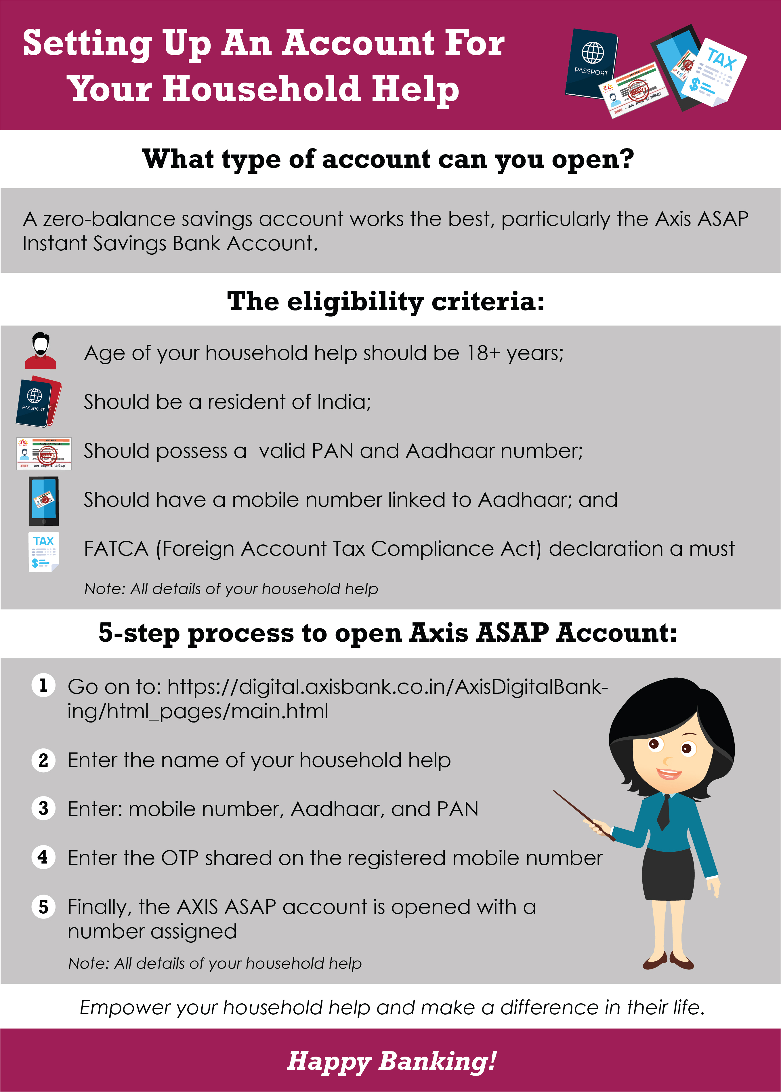 Setting Up An Account For Your Household Help