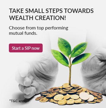 Take Small Steps Towords Wealth Creation