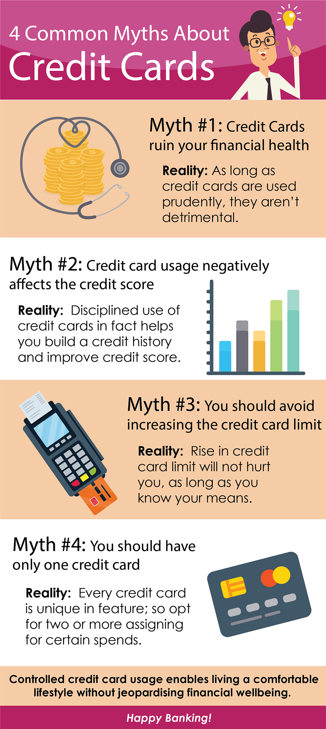 4 Common Myths About Credit Cards