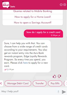 Axis Aha Making Banking Worth Talking About Axis Bank