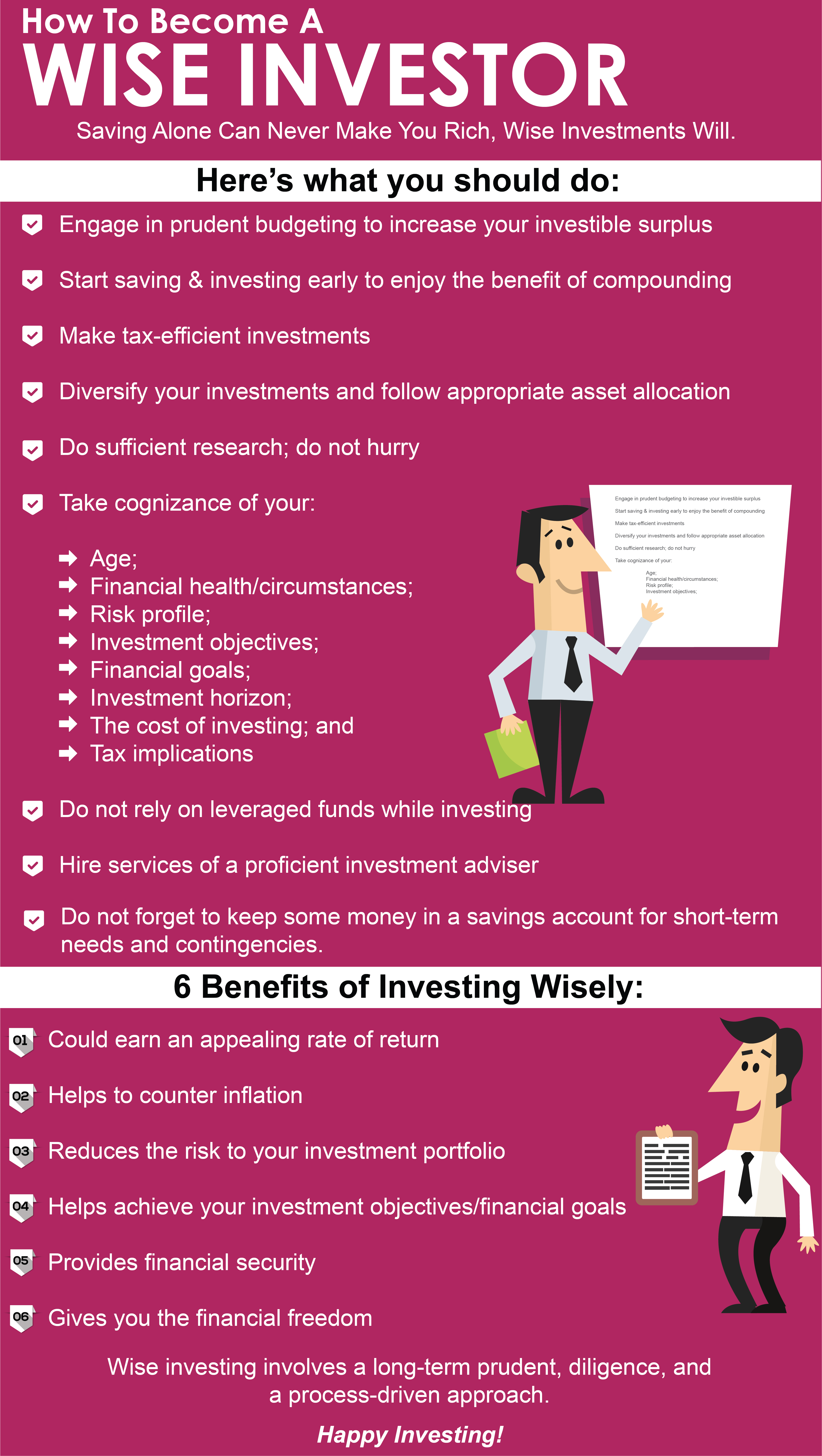 How To Become A Wise Investor