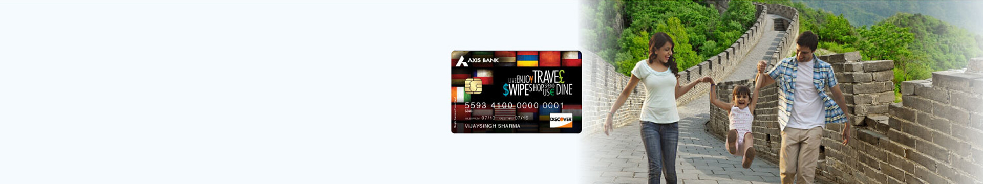 Milti-Currency Forex Card Banner