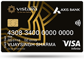 AXIS BANK VISTARA SIGNATURE